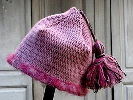 Bonnet en laine 60€