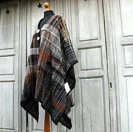 poncho, cape, 350€ VENDU