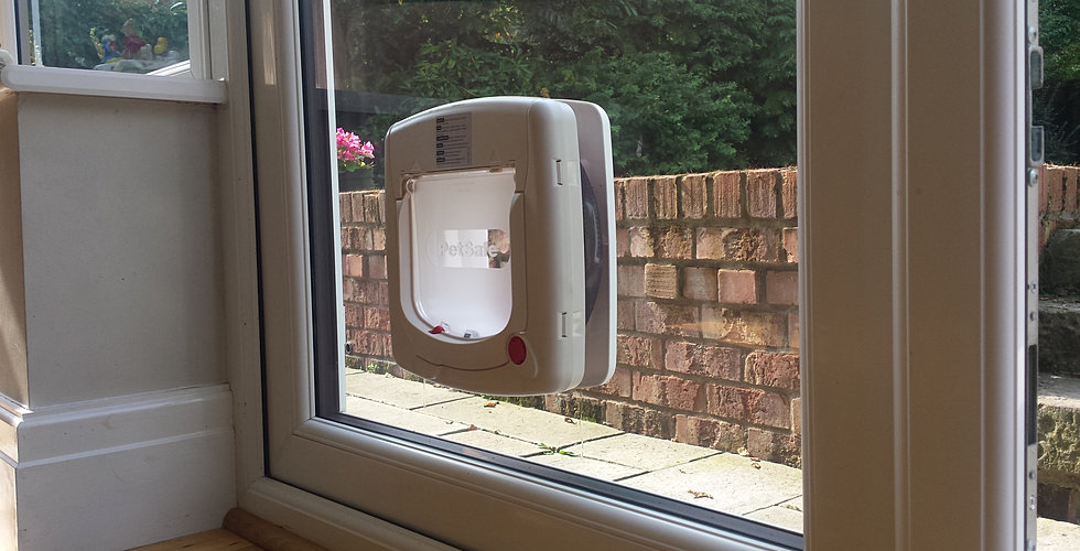 Window and door repairs stoke on trent for Upvc french doors with cat flap