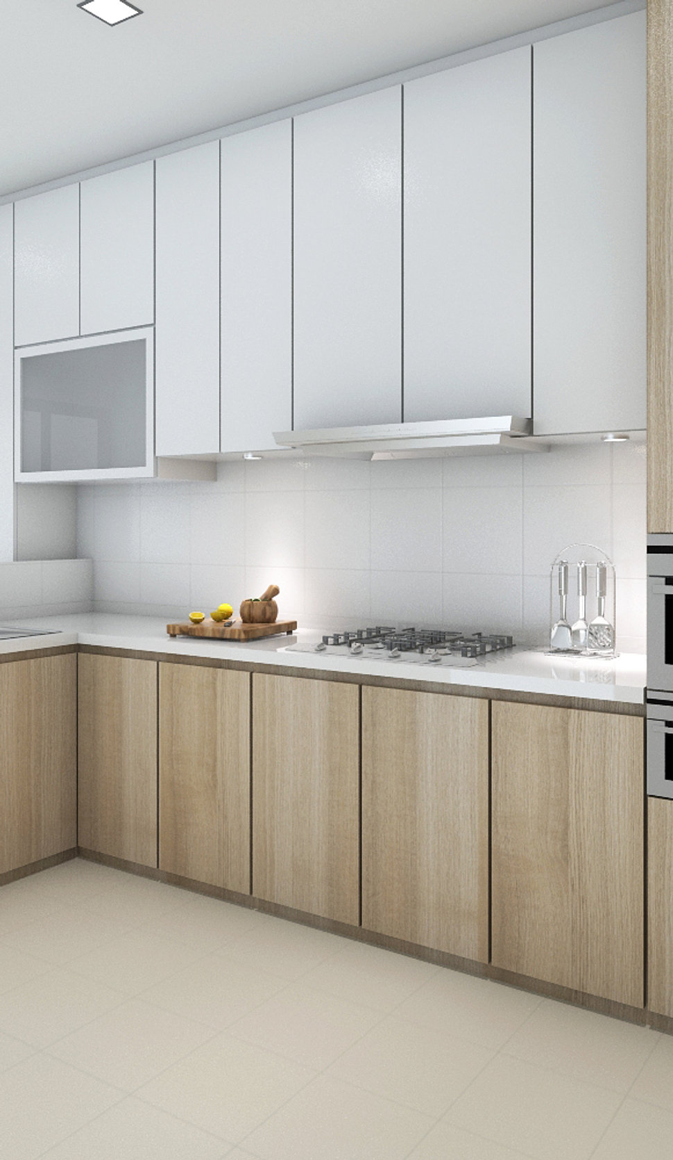 Kitchen Cabinets Singapore: 3 Room Hdb Interior Design