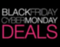 Black Friday thru Cyber Monday Deals