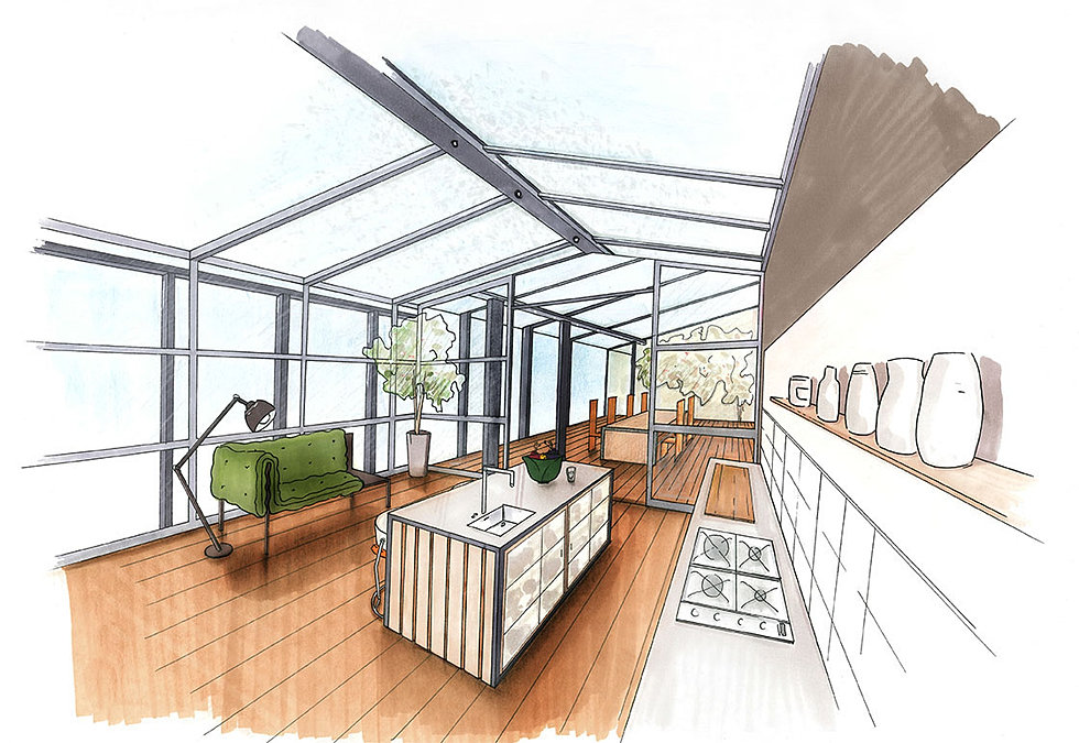 Charmant dessin architecte d interieur 3 apprendre a for Maison architecte interieur