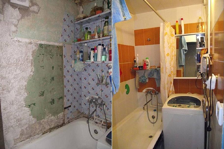 Делаем ремонт в ванной своими руками