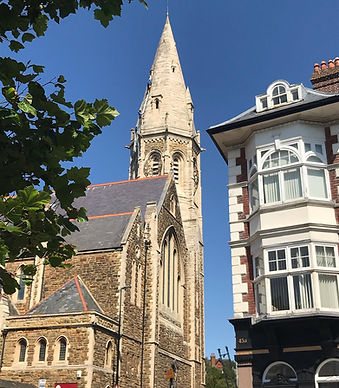 Church from the end of Kings Road.jpg
