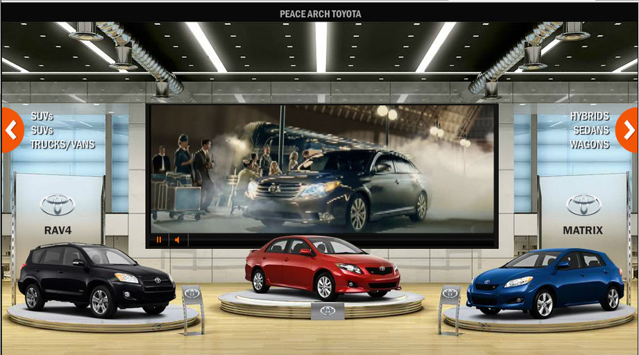 Peace Arch Toyota New And Used 3d Showroom Official Web