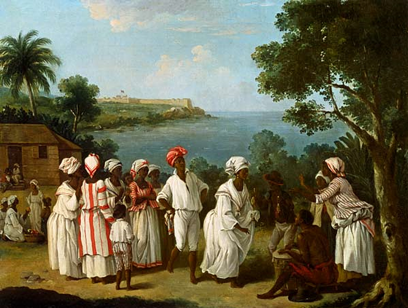 negroes dance