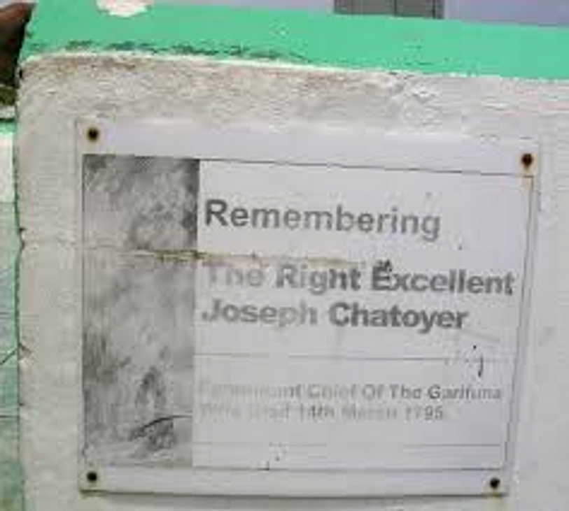 the resting place of joseph chatoyer