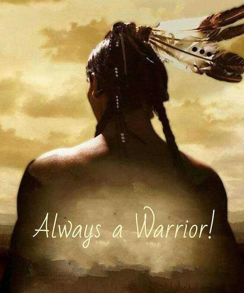 Alway a warrior