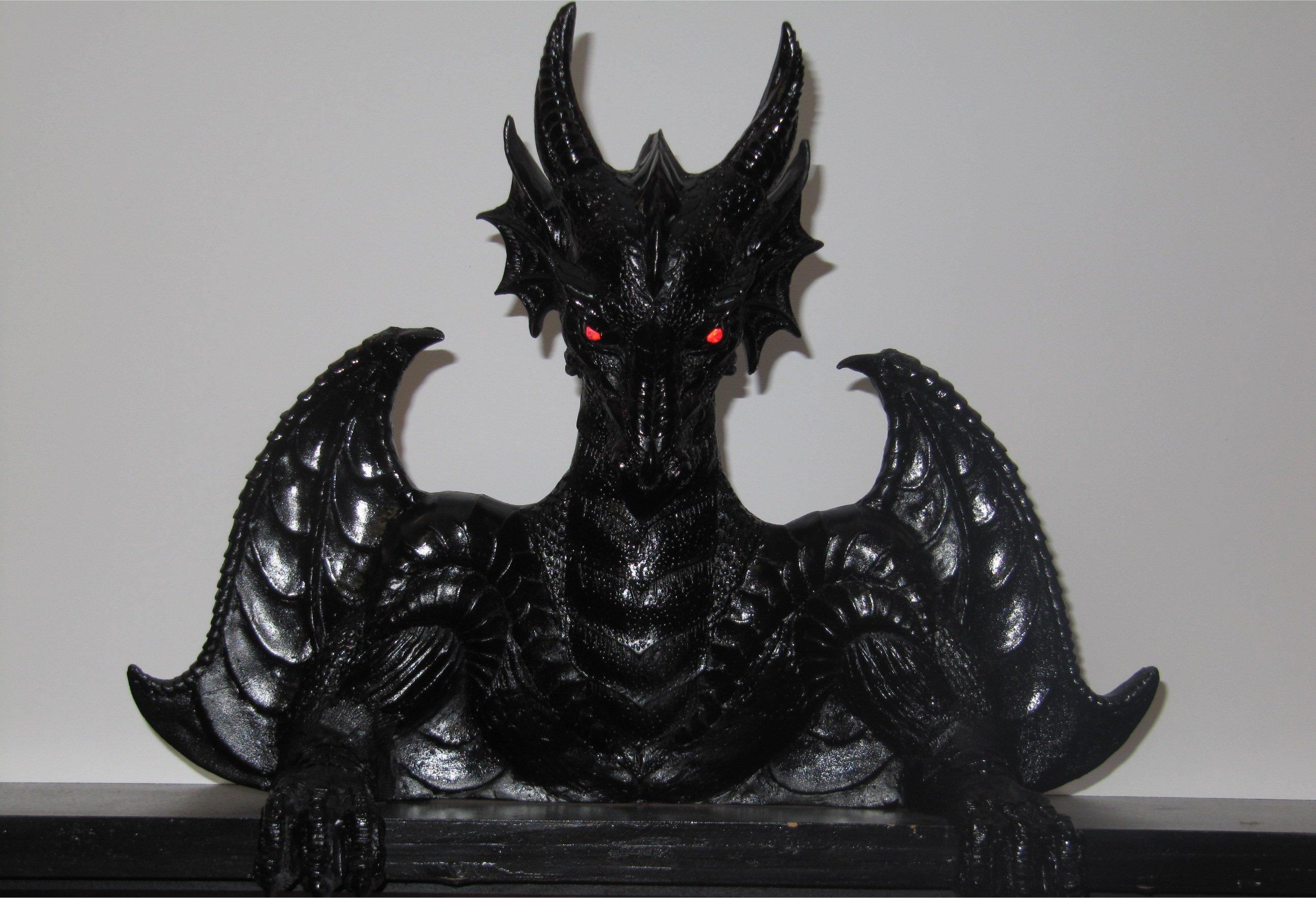 pinballmoding medieval madness dragon topper