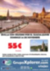 Sevilla con crucero por el Guadalquivir.