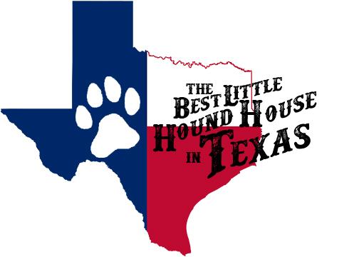 Dog boarding longview texas best little hound house in for Best little dog house in texas