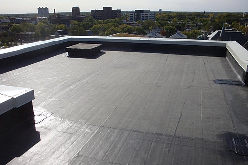 Flat Roof Skirt : Miesen roofing flat roof specialists
