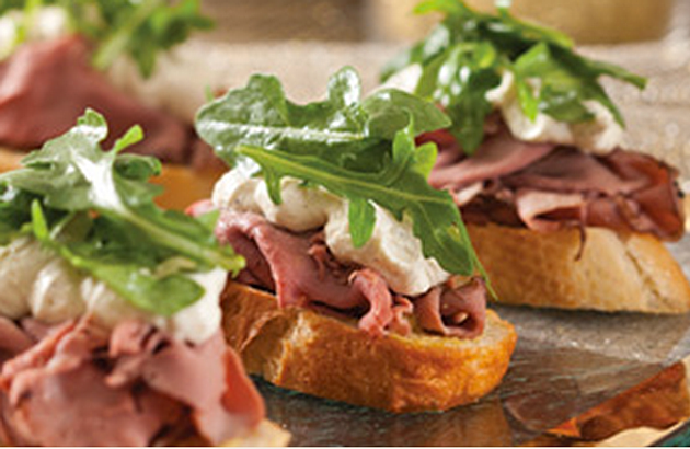 Pears With Roast Beef And Horseradish Cream Recipes — Dishmaps