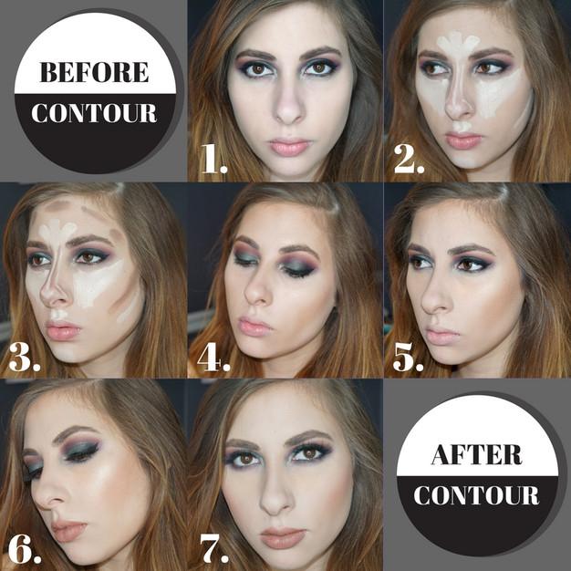 Step By Step Cream Contour | Glitterati Glamour
