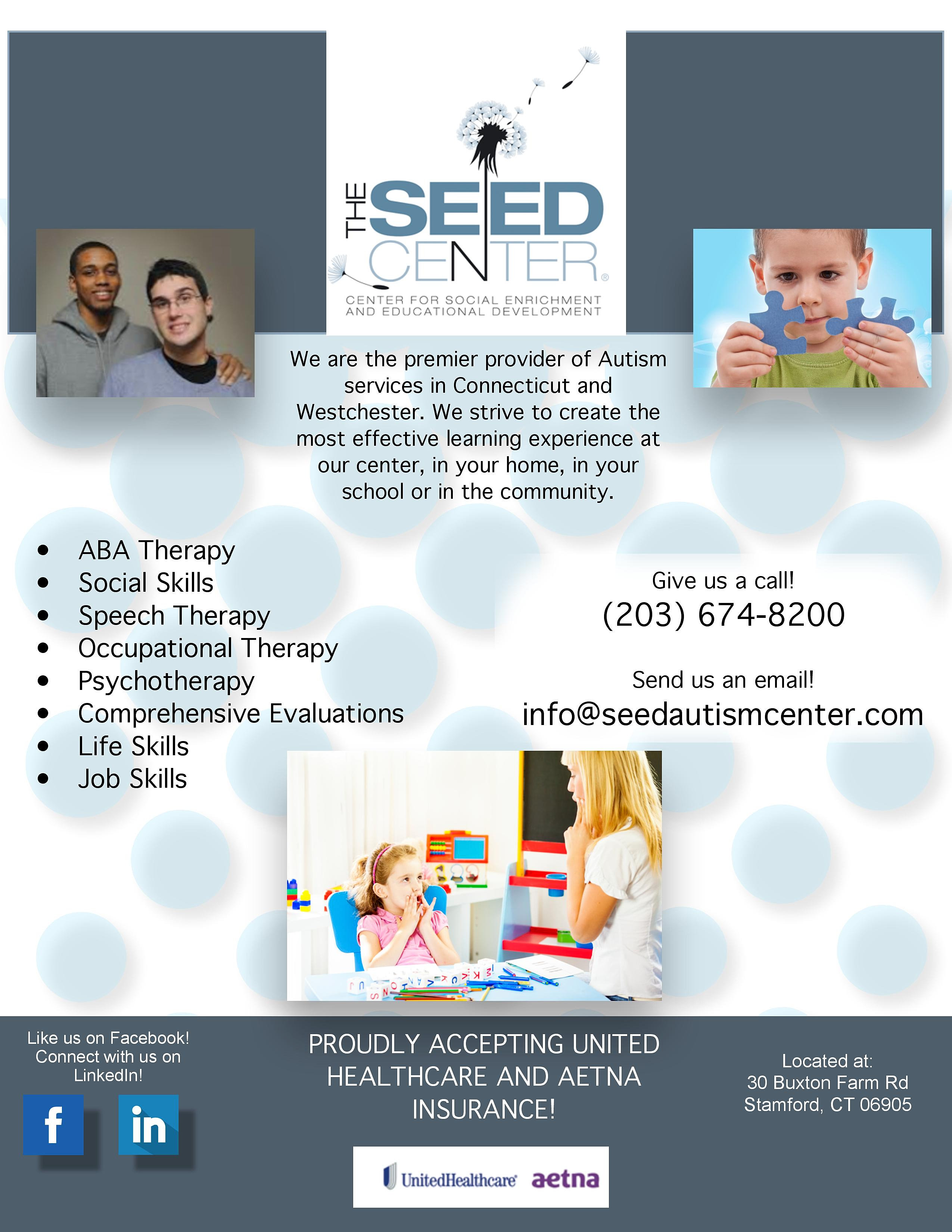 Connecticut Family Support Network | CTFSN | The Seed Center