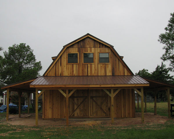 Barns and buildings by all phase nationwide custom for 24x36 pole building