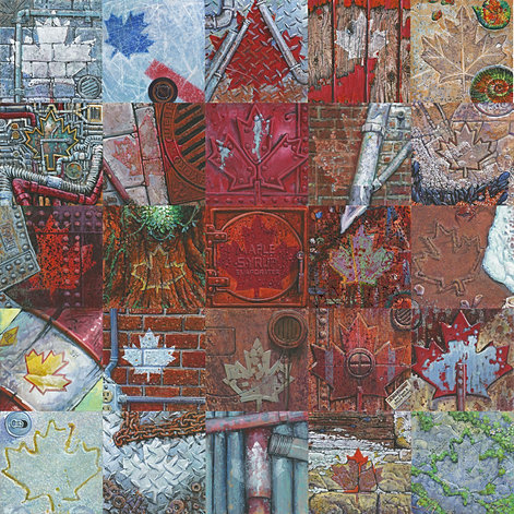 Mural mosaic for Cochrane mural mosaic