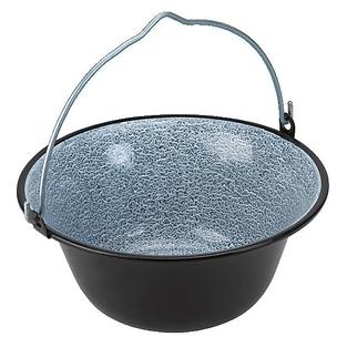 Emaille Topf feuerschale oder gartengrill für die gartenküche kaufen 8l emaille