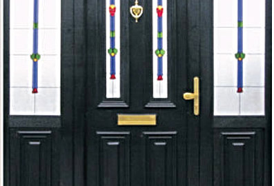 Coloured upvc doors colour coated pvcu composite doors for Coloured upvc doors
