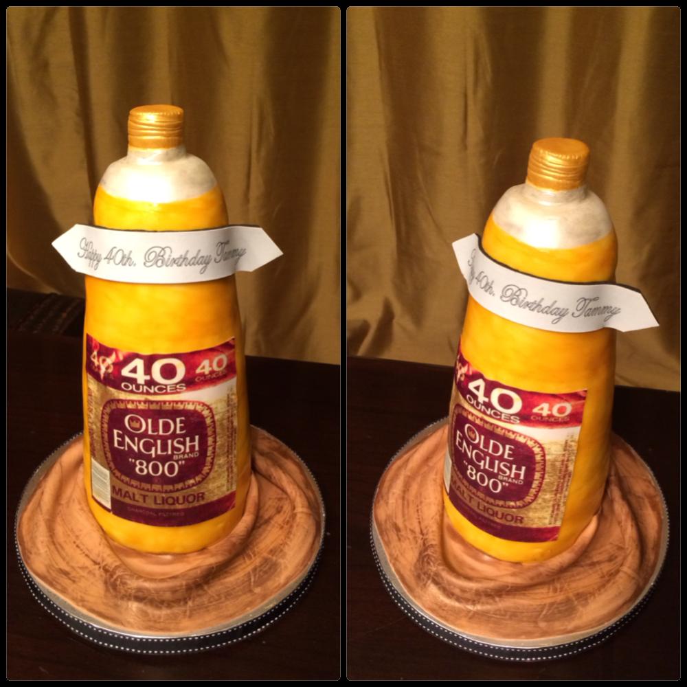 Ebd By Chyna Custom Cakes Nj And Ny Old English 40 Ounce