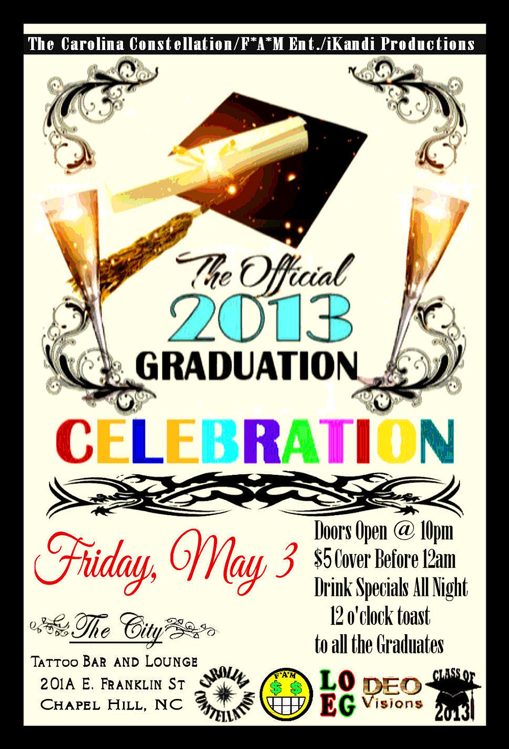 constellation imagery flyer designs sample flyers b2sflyerfinal1 b2sflyerfinal1 new graduation celebration front 4x6 jpg