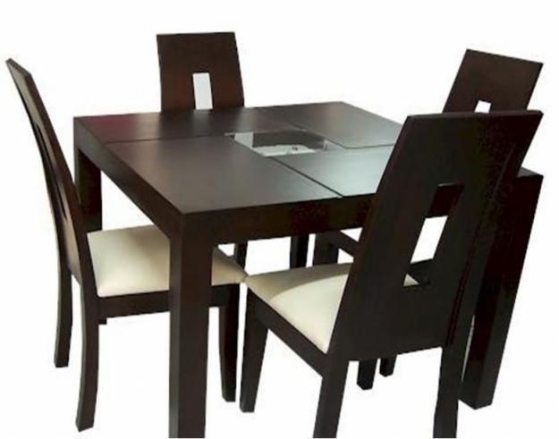 Comedores de madera comedores de sillas en madera for Comedor moderno de madera