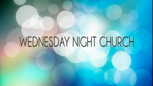 Image result for wednesday night church