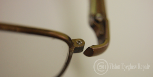 Eyeglass Frame Repair California : Metal Frame Broken Frame Body Vision Eyeglass Repair ...
