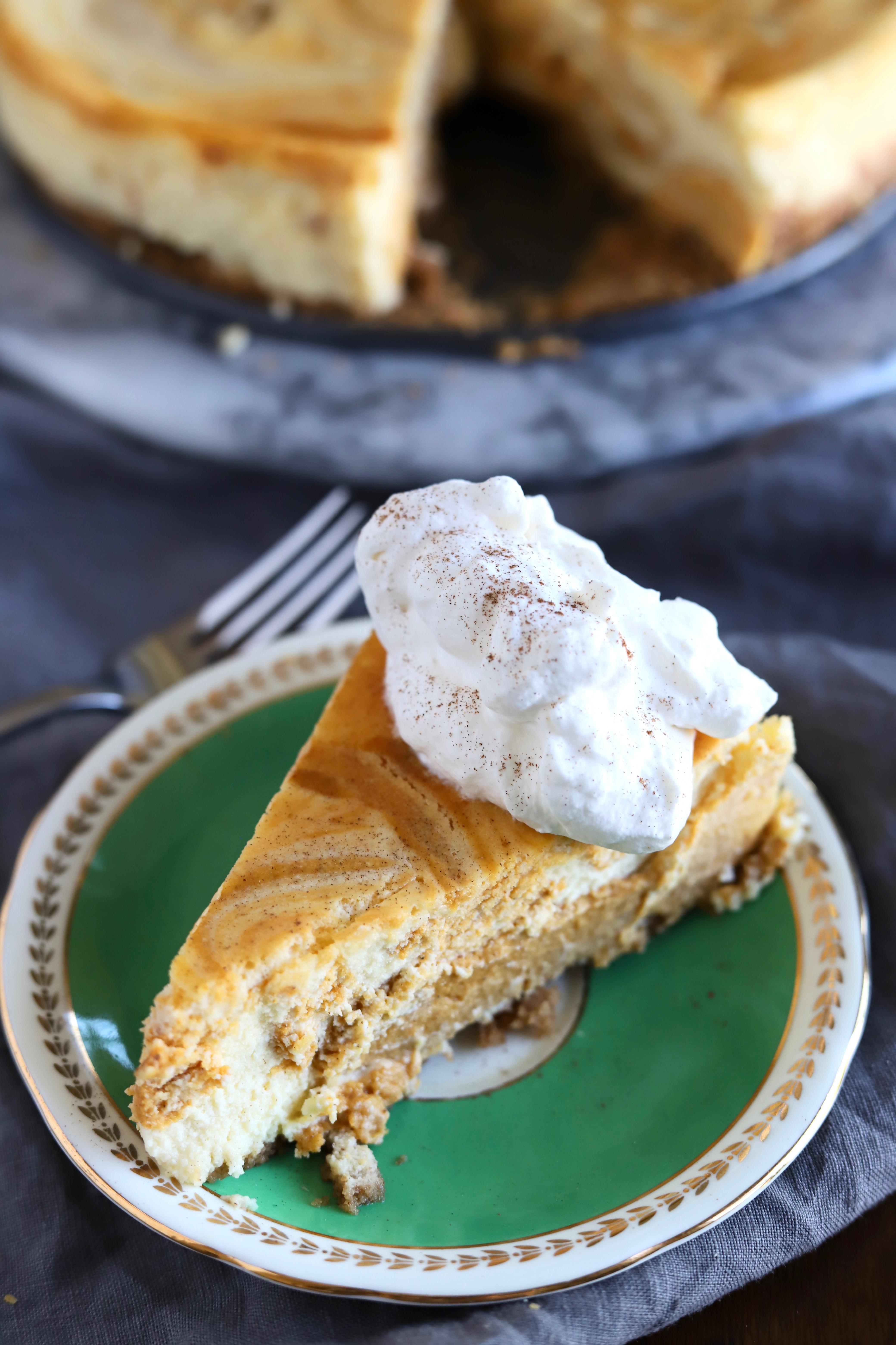 Pumpkin Cheesecake + Friendsgiving Fun