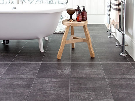 Tile Vinyl Flooring. Carpets   Aberystwyth  39 s largest flooring selection   Tile Effect Vinyl