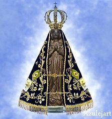 Nossa Senhora Aparecida - azul