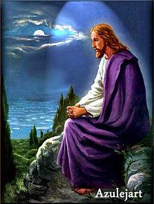 Jesus no Monte das Olívias
