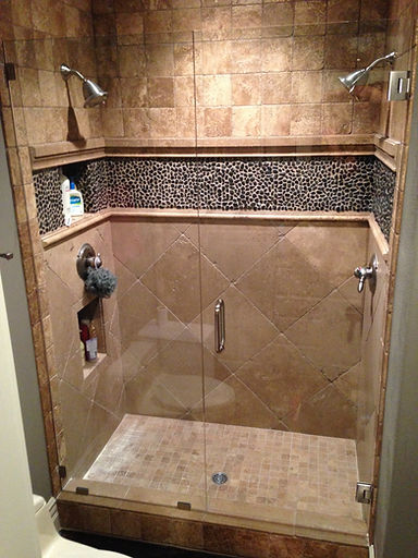 Shower Enclosure Install Frameless Glass Door Replacement Las Vegas