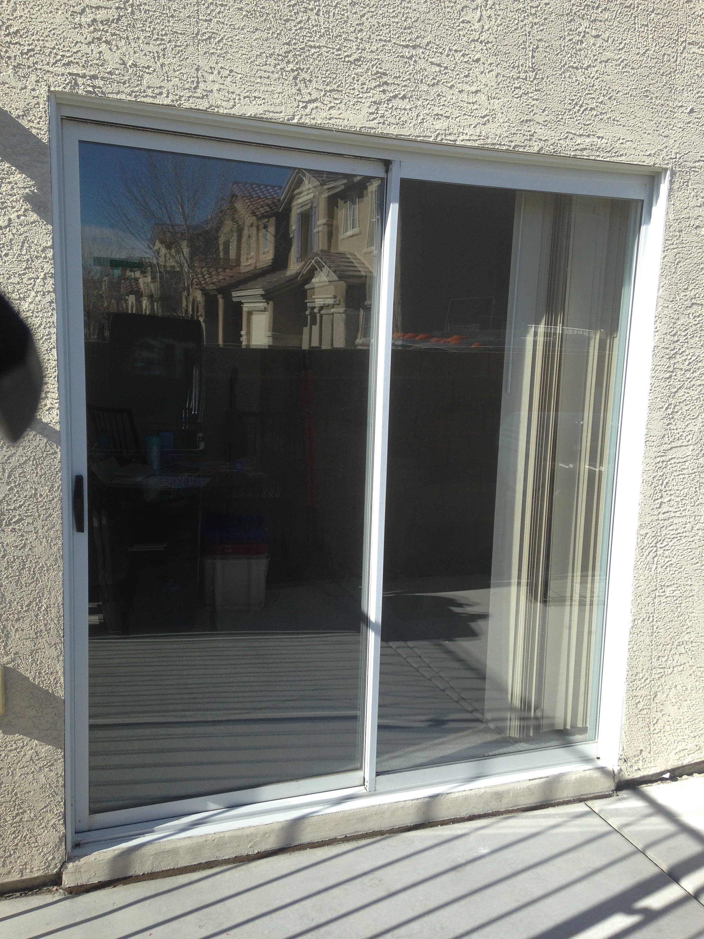 Las vegas patio door glass replacement commercial window for Patio window replacement