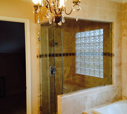 Shower Enclosure Install Frameless Glass Door Replacement Las Vegas - Bathroom shower glass replacement