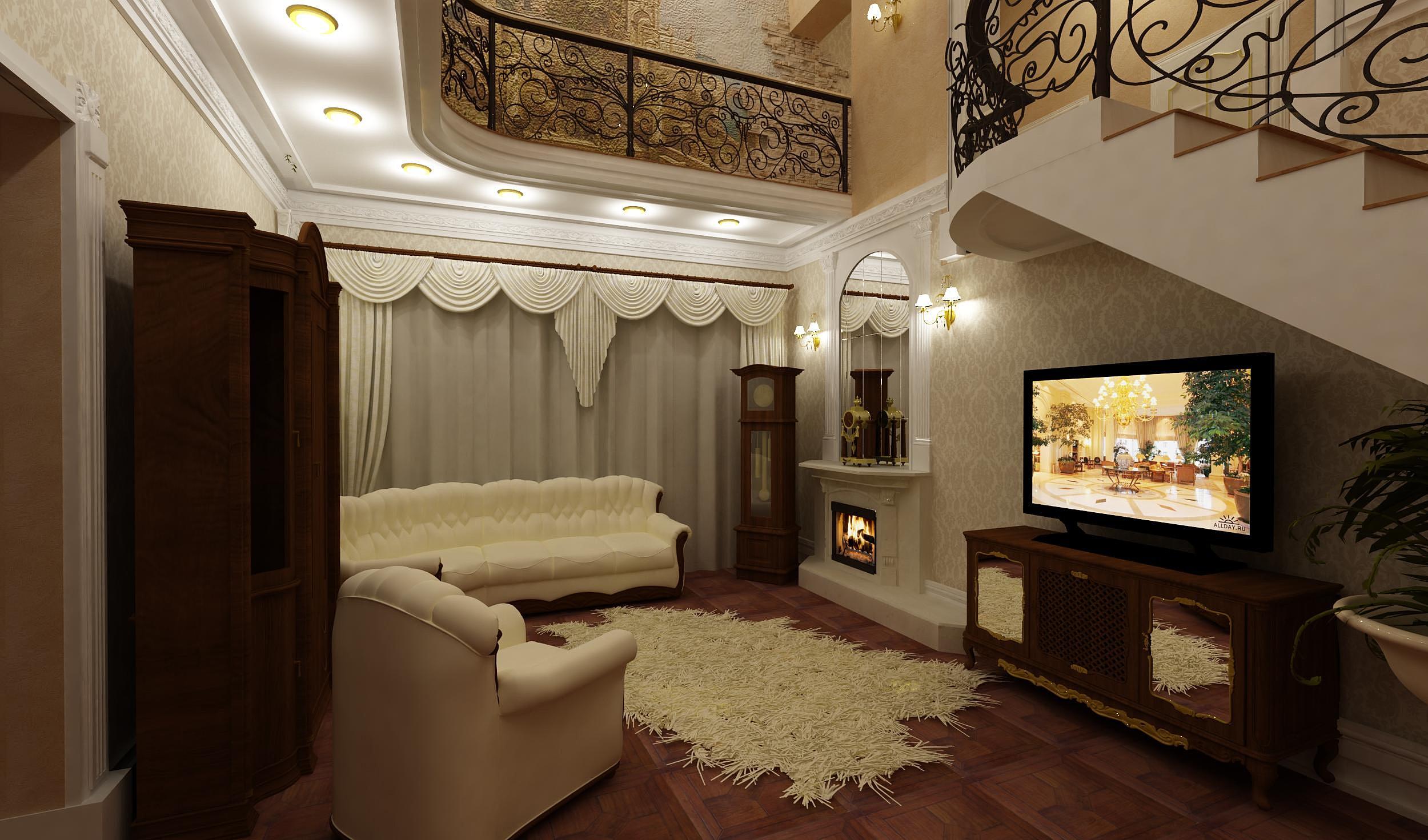 Онлайн дизайн гостиной
