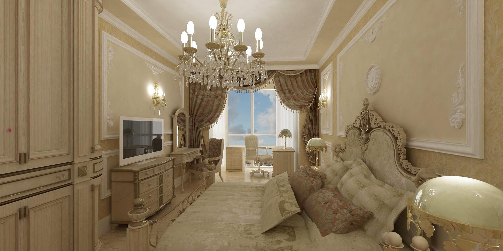 Ремонт в стиле барокко фото