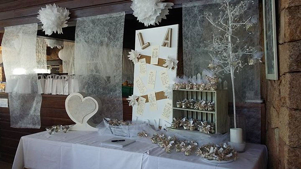 Deco Urne Mariage : Deco table urne mariage