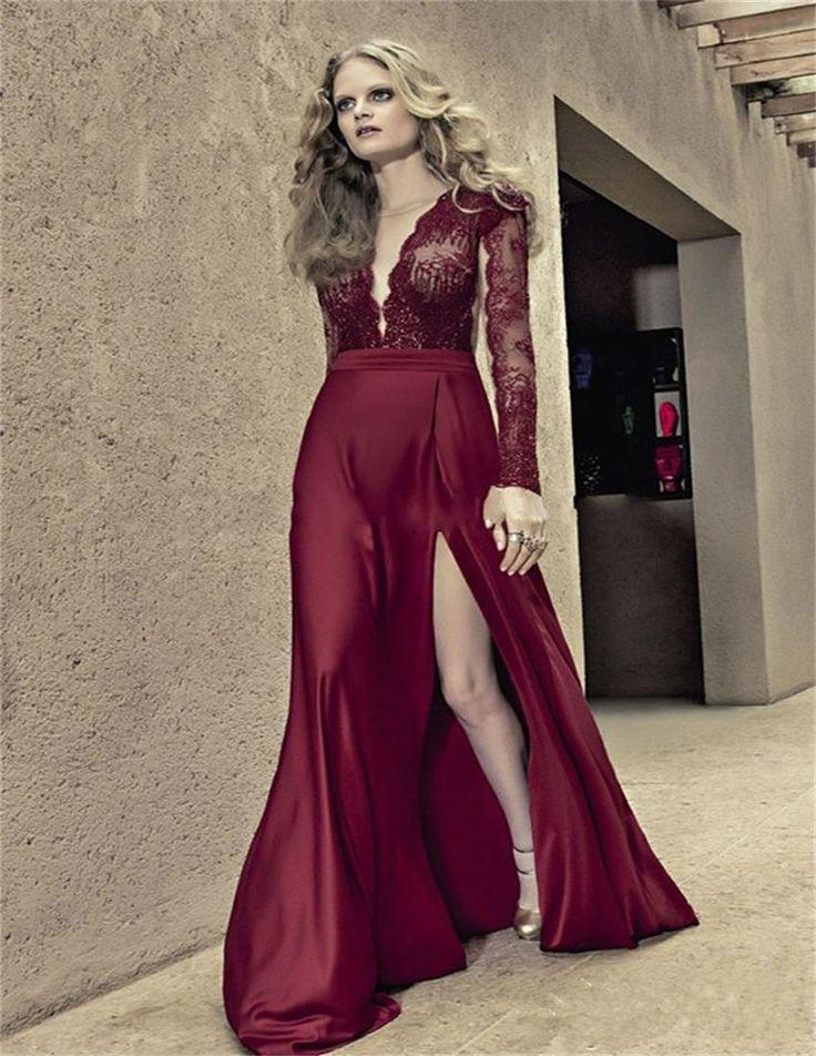 3f7006891c Vestidos de noche largos elegantes 2016 - Vestidos a la moda en ...