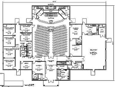 Church Plan Source Home Church Floor Plan Design