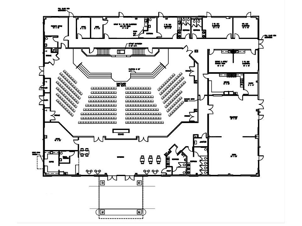 Church Design Home Floorplan