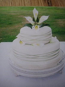 Lily Rose Cake Design : My Little Shop of Cakes Wedding Cakes
