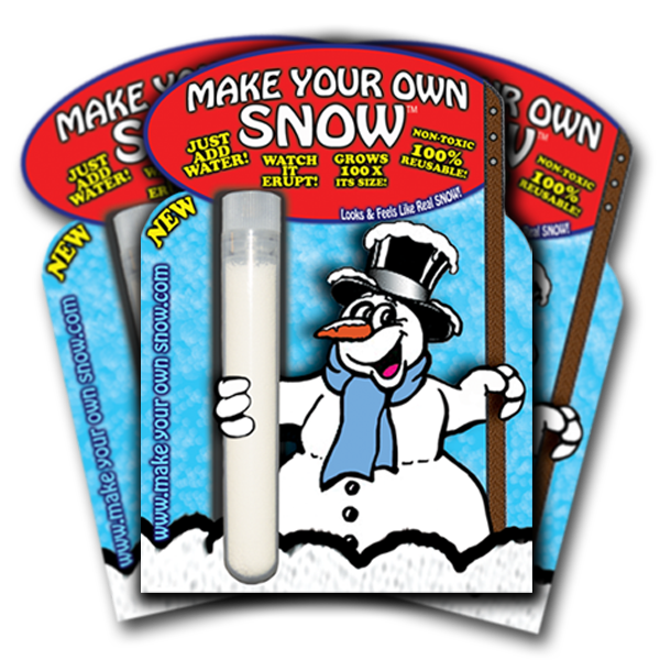 how to make artificial snow fall