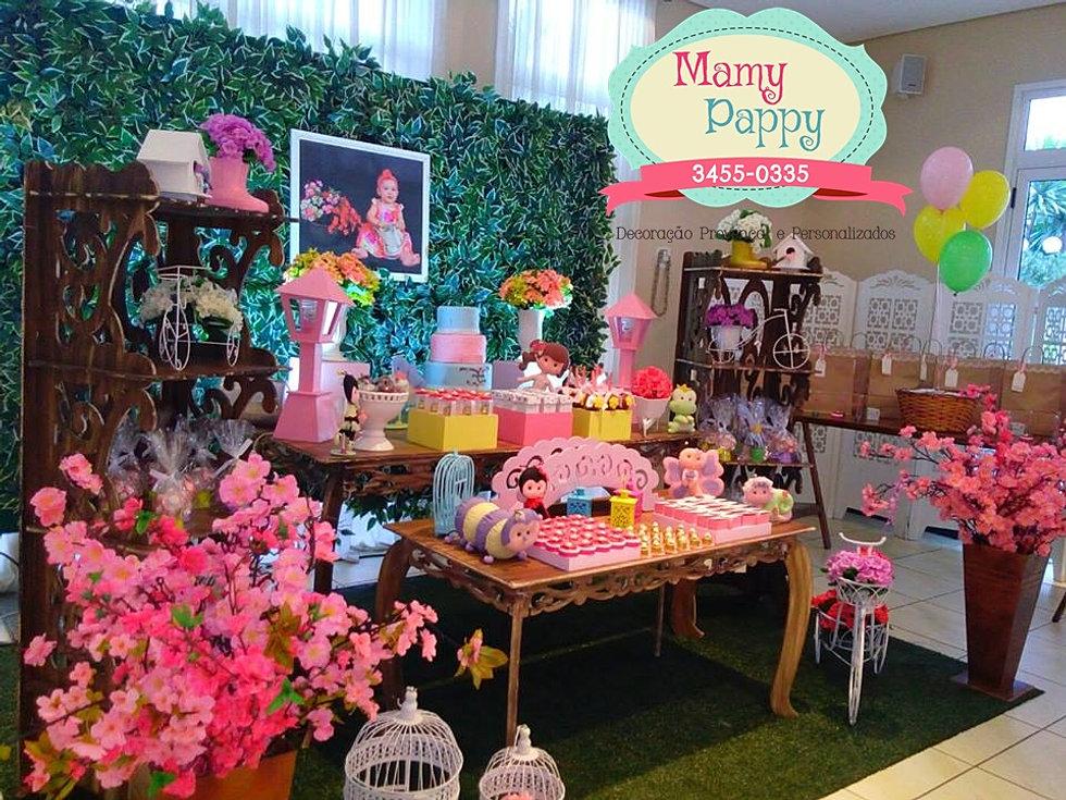 Mamy Pappy Decoraç u00e3o Provençal, Buffet a Domicilio e Kit Festa para SP Jardim Encantado -> Decoração De Festa Infantil Jardim Encantado Rustico