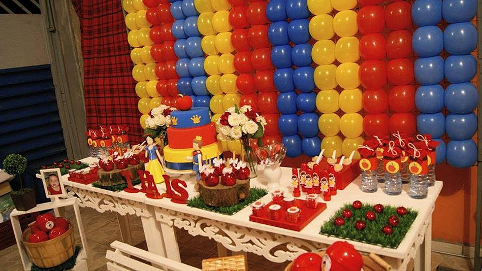 decoracao festa infantil branca de neve provencal : decoracao festa infantil branca de neve provencal:Decoração Provençal Branca de Neve Clean