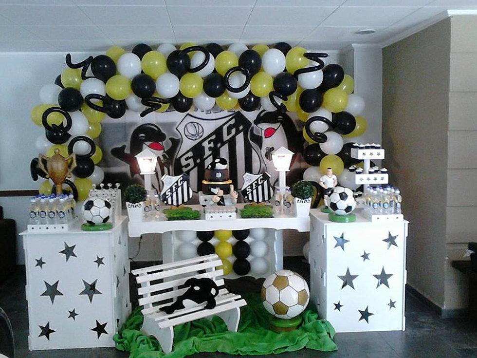 Mamy Pappy Decoraç u00e3o Provençal, Buffet a Domicilio e Kit Festa para SP Futebol Santos -> Decoração De Festa Infantil Zona Leste Sp