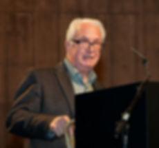 David Bonnett presenting at a conference