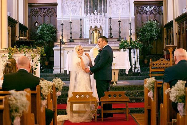 Christmas wedding, Surrey