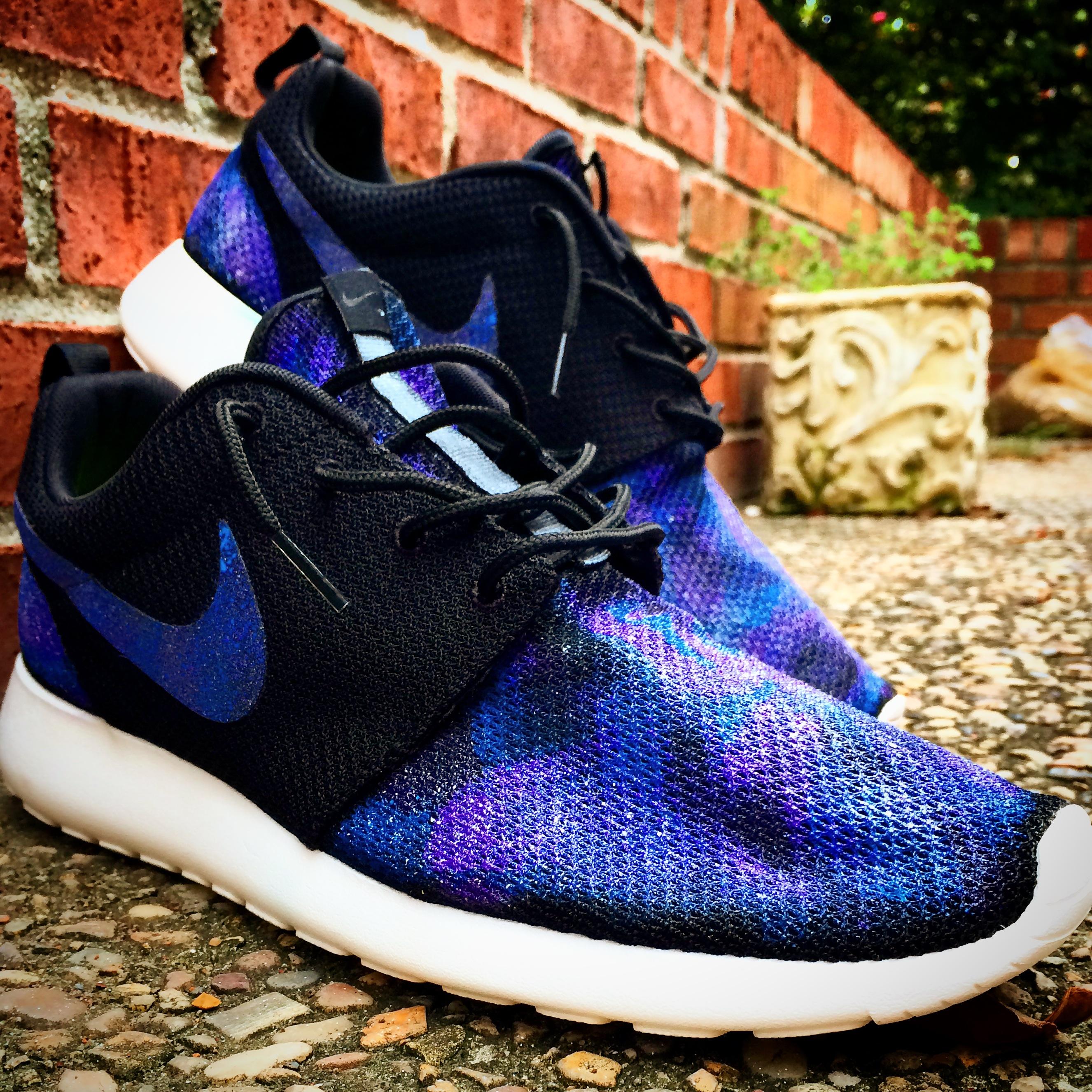 Nike Roshe Run Nebula Custom  Metropolis