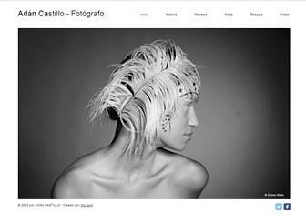 Fotos online Template - Lleva a tu portafolio creativo online con esta moderna plantilla web. Agrega texto para contar tu historia y personaliza las galerías de fotos y videos para mostrar tu trabajo. Diseña un sitio único y comparte tus talentos con el mundo entero.